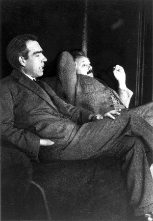 albert einstein and niels bohr 1163429 pixabay